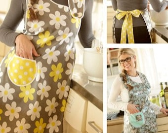 Asymmetrical Apron PDF sewing epattern - quick and easy apron
