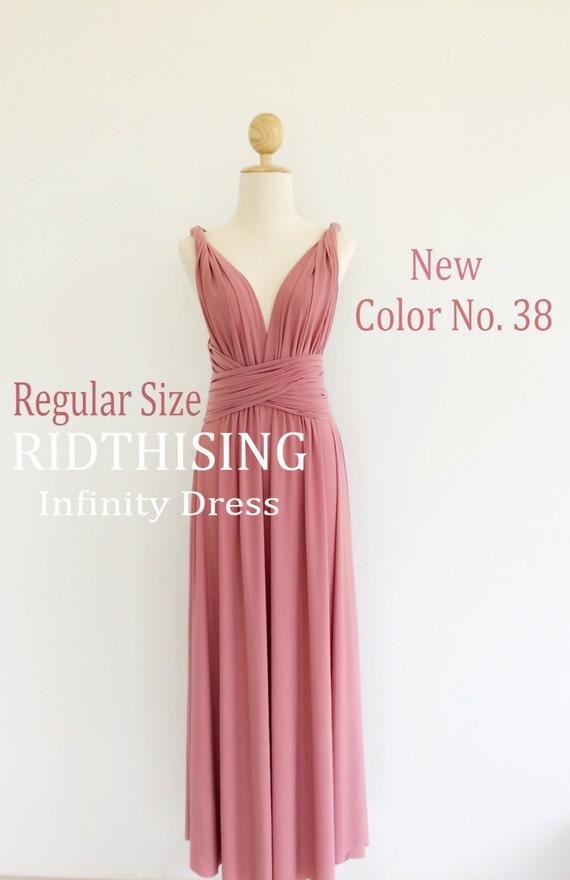 Maxi infinito de vestido de Dama de honor vestido de baile