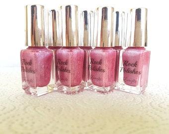 Rock Polish Nail Polish Pink