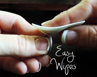 Easy Wipe Tarnish Remover | Pro Polish Pads | Jewelry Cleaner Removes Tarnish, Oily Residue, Shines Easily