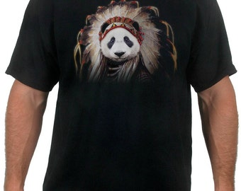 Panda Chief T-Shirt (Infant, Toddler, Youth or Adult Sizes)