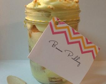 32oz Banana Pudding
