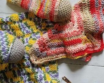 Crochet Lovey Dolls