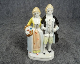 Made In Occupied Japan Vintage Colonial Locked Arm Couple