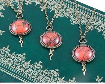 Doctor Who Necklace - Gallifreyan Pendant - Gift for Doctor Who Fan - Whovian Necklace - Time Lord Jewellery
