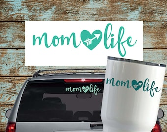 Mom Life Vinyl Decal