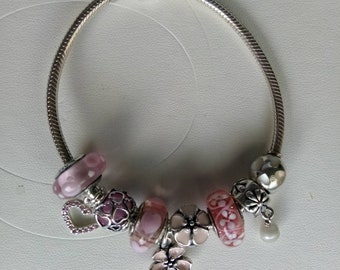 Pandora Pretty in Pink Bracelet,