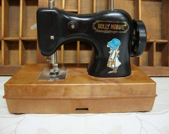 Holly Hobbie Toy Sewing Machine 1975