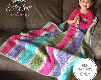 Crochet Baby Blanket Pattern, Finley Baby Blanket Pattern, Toddler & Baby Blanket Pattern, Crochet Baby Afghan Pattern, Easy Crochet Pattern