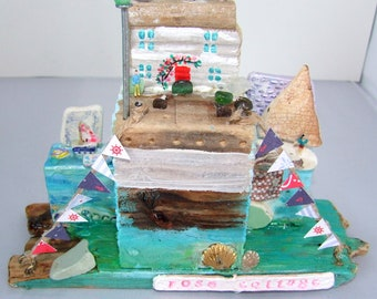 AdorableDriftwood Rose Cottage