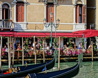 Limited Edition - Venice Italy Travel Print - Travel Photography - Venice - Gondola - Italy - Travel - Romantic print