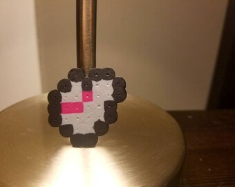8-bit Tippy Toe inspired figure, magnet, pin, or hair clip