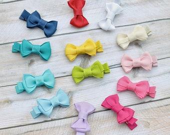 Newborn hair bow set, you choose 10