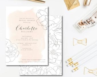August Gardenias Invitations