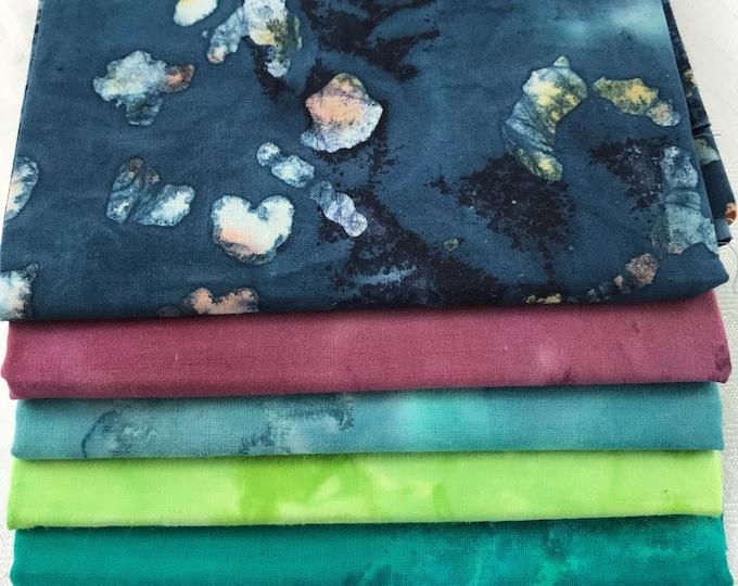 Variety Batik Fat Quarters Bundle