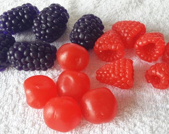 3D silicone mold Berries  for soap, candles, gypsum, chocolate  Mold Kawaii Molds Silicone molds