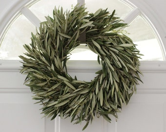 Olive Branch Wreath - 12 inch easter