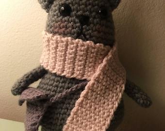 Crochet  teddy bear / amigurumi