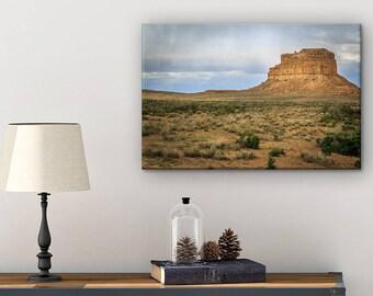 Canvas Photo - New Mexico Landscape - Nature Canvas - Master Bedroom Wall Decor - Landscape Canvas - National Park Art - Southwest Art