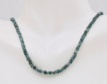 Natural Alexandrite Beads Necklace Certify Alexandrite June Birthstone Alexandrite Jewelry Color Changing Alexandrite Necklace 14k WYG