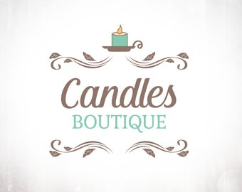 Premade Logo Design • Candles Boutique