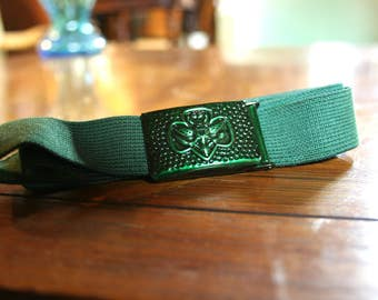 "Vintage Girl Scout Belt (up to 32"" waist)"