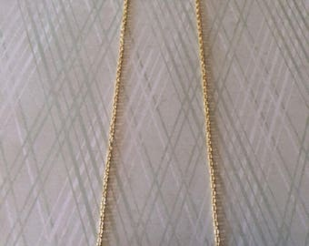 Bar Necklace - Bar Necklace Gold - Bar Jewelry - Bar Pendant - Bar Pendant Necklace - Gold Bar Necklace - Tube Necklace - Gold Tube Necklace