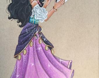 Esmeralda print