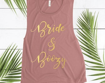 Bride and Boujee Tank, Bride Tank Top, Bride Shirt, Bachelorette Party Shirts, Bachelorette Party Tanks, Bachelorette Bride Shirt, Bride