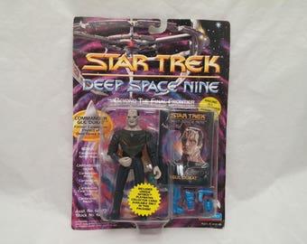 Star Trek Deep Space Nine Commander GUL DUKAT Action Figure - New in Box - NIB - Beyond The Final Frontier Series
