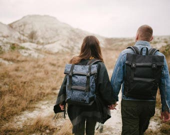 Laptop Backpack,Men Backpack,Roll purse Backpack,Travel backpack Laptop,Gift rucksack,Roll Backpack men,Hipster Backpack,Backpack Men,