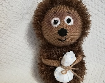 Hedgehog, Knitted Toy, Pattern, Handmade Toy, Knitting Pattern