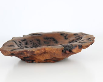 Gorgeous Bloodwood Burl Small Bowl or Dish