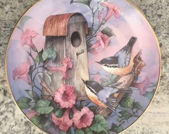 Royal Doulton Nuthatch Nook Plate