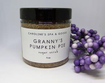 Granny's Pumpkin Pie Sugar Scrub