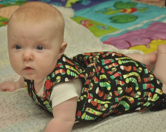 Christmas romper for holiday fun!!