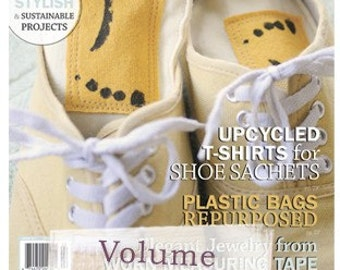 Sunshine Yellow Shoe Pillow Odor Absorbers AS seen on Cover of Green Craft Magazine Upcycled SET of Two Foot Pillows