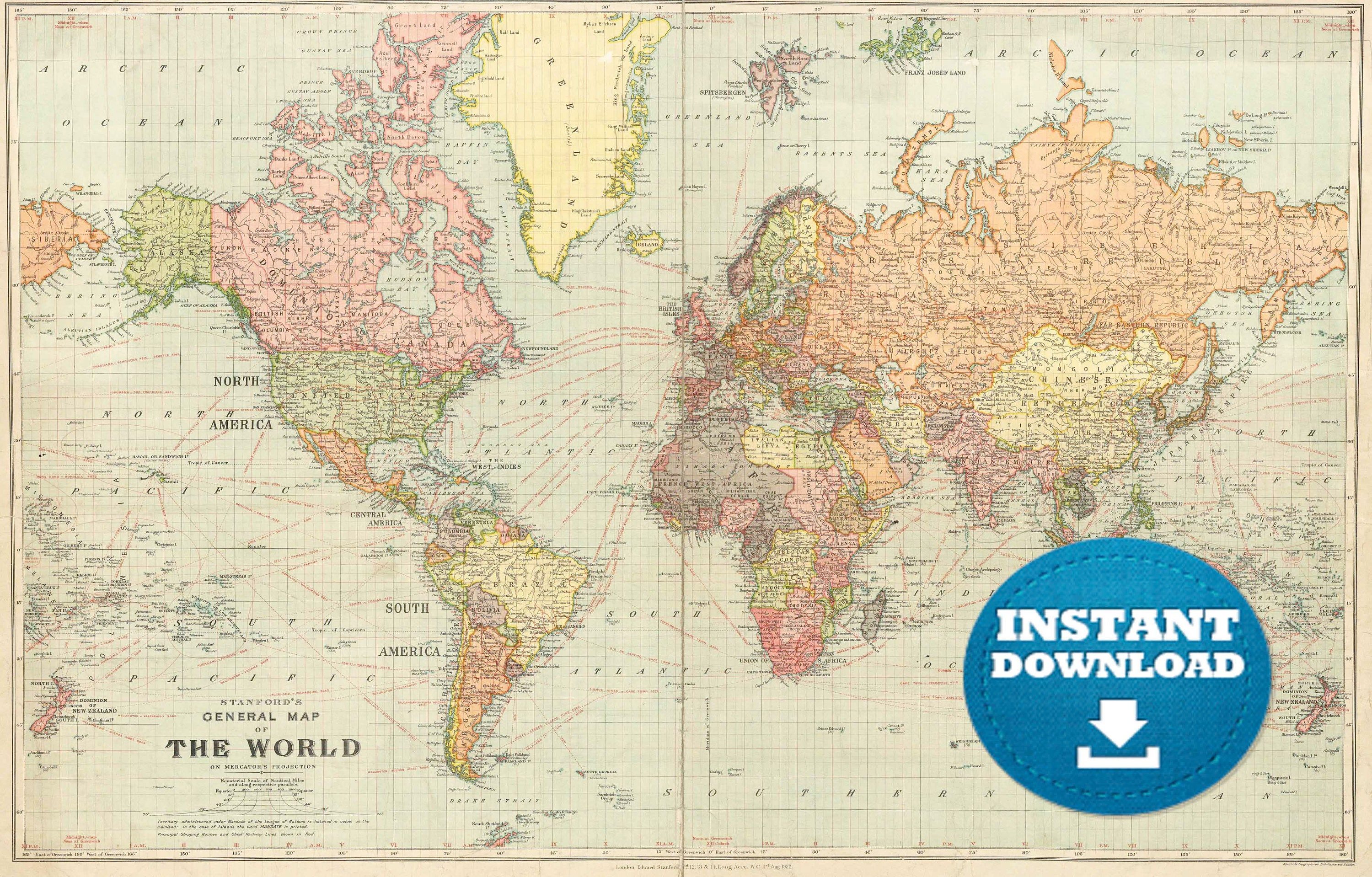 Digital old world map hight printable download vintage zoom gumiabroncs Choice Image