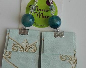 Earrings 'BlueSea'