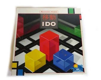 Colorful Board Game IDO The Art Of Playing