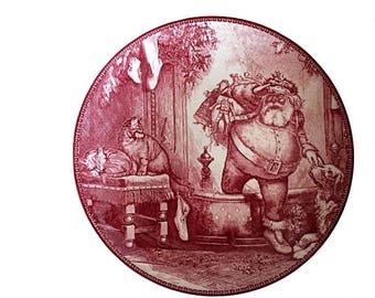 Wedgwood Father Christmas, Father Christmas Plate, Rare Wedgwood, Santa Plate, Vintage Santa, Christmas Plate, Christmas China, Sonoma China