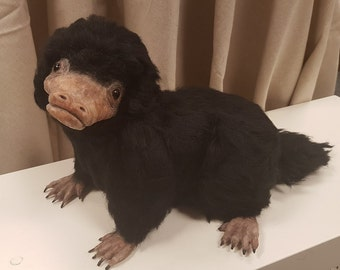 Niffler - OOAK, Needle Felted, Fantastic Beasts and Where To Find Them