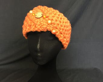 Merino Wool Headband with Superfine Alpaca Handmade in Ireland