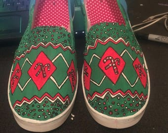 Christmas Sweater Shoes