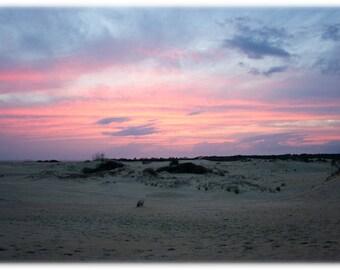 Sunset over Jockey's Ridge