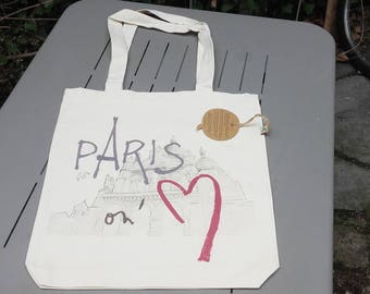 """Tote Bag """"Paris on'M®"""", Montmartre"""
