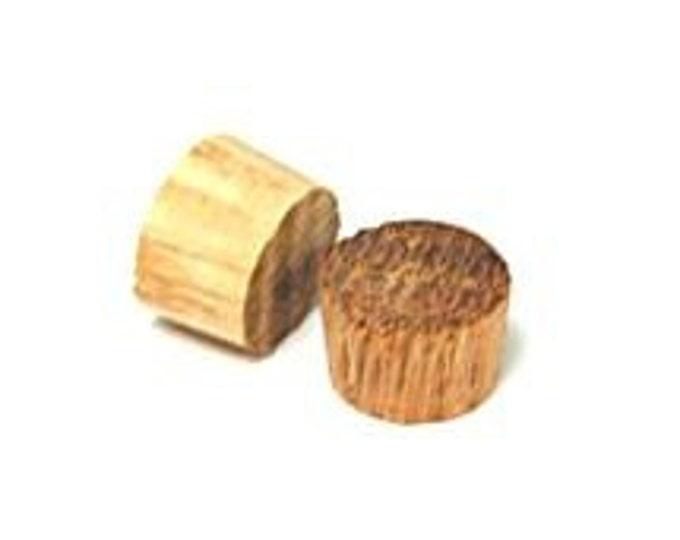 Miniature  Wood Roundhead Plugs - Set of 20