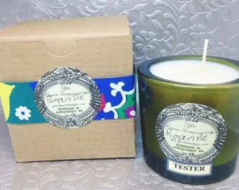 Eco Soy Wax Candle - Springtime and Classic Scents: Lavender Herb, Lily of the Valley, Pink Grapefruit, Honeysuckle, Chamomile...