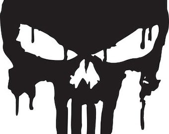 The Punisher Vinyl Decal D04