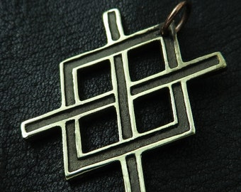 Bronze Gungnir pendant